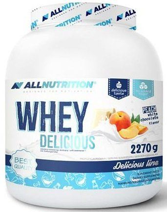 all nutrtion whey delicious