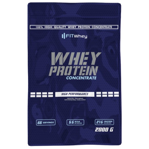 fitwhey Whey Protein 100 Concentrate 2000g