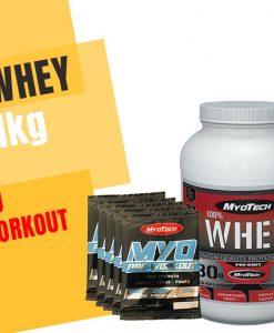 Pachet Cadou Myotech Whey Protein Premium