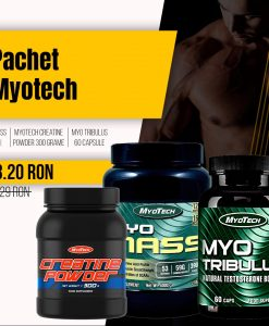 Pachet MyoTech - MYO Mass, Creatine Powder, Tribulus